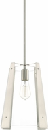 Capital Lighting 319912BN Modern Brushed Nickel Mini Pendant Light