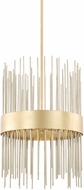Capital Lighting 325441FI Lena Contemporary Fire and Ice Hanging Pendant Light