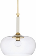 Capital Lighting 325811WP-438 Contemporary Whisper White Lighting Pendant