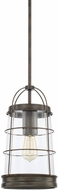Capital Lighting 327411NG Beaufort Modern Nordic Grey Mini Hanging Light