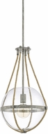 Capital Lighting 327413MS Beaufort Contemporary Mystic Sand Hanging Pendant Lighting