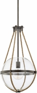 Capital Lighting 327413NG Beaufort Modern Nordic Grey Hanging Pendant Light