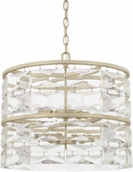 Capital Lighting 327861WW Serena Winter White Drum Drop Lighting