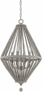Capital Lighting 328041PG Kima Modern Paris Grey Ceiling Light Pendant