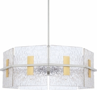 Capital Lighting 328343MX Contemporary Mixed Metal Pendant Lighting