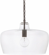 Capital Lighting 329611NG Contemporary Nordic Grey Hanging Lamp