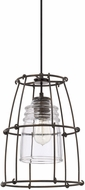 Capital Lighting 329711NG-462 Turner Contemporary Nordic Grey Mini Hanging Light