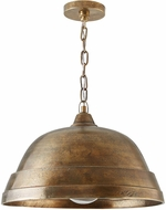 Capital Lighting 330311XB Contemporary Oxidized Brass Pendant Light
