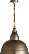 Capital Lighting 330313XB Contemporary Oxidized Brass Pendant Lamp