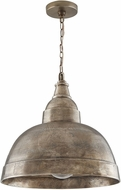 Capital Lighting 330313XN Modern Oxidized Nickel Hanging Lamp