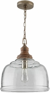 Capital Lighting 330318GY Contemporary Grey Wash Pendant Lighting Fixture