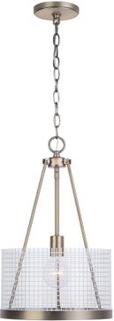 Capital Lighting 331111AD Drew Contemporary Aged Brass Mini Pendant Lighting Fixture