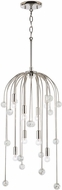Capital Lighting 331781PN Audra Contemporary Polished Nickel Hanging Light Fixture