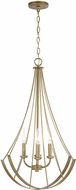 Capital Lighting 331941AP Contemporary Aged Brass Painted Drop Ceiling Lighting