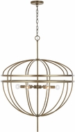 Capital Lighting 332061AD Fontaine Modern Aged Brass 28.5  Drop Ceiling Light Fixture
