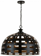 Capital Lighting 332241MB Garrison Modern Matte Black Lighting Pendant