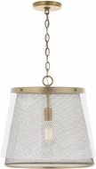 Capital Lighting 332312AD Abbott Modern Aged Brass Hanging Lamp
