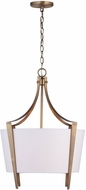 Capital Lighting 332512AD Contemporary Aged Brass Pendant Lighting Fixture