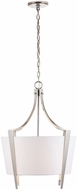 Capital Lighting 332512PN Modern Polished Nickel Hanging Pendant Lighting