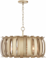 Capital Lighting 332741AP Cayden Contemporary Aged Brass Painted Hanging Light Fixture