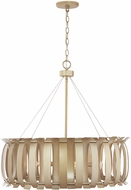 Capital Lighting 332761AP Cayden Modern Aged Brass Painted Drop Lighting