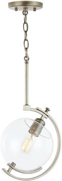 Capital Lighting 332911AN Webster Modern Antique Nickel Mini Ceiling Light Pendant