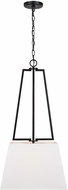 Capital Lighting 333011MB Palmer Modern Matte Black Drop Ceiling Light Fixture