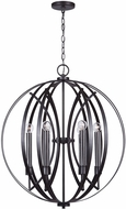 Capital Lighting 333761MG Lathem Modern Midnight Grey Pendant Lighting Fixture