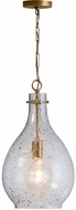 Capital Lighting 333813PA-472 Contemporary Patinaed Brass Mini Pendant Hanging Light