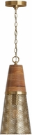 Capital Lighting 333911DG-693 Modern Desert Gold Mini Drop Ceiling Lighting