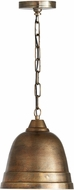 Capital Lighting 335312XB Contemporary Oxidized Brass Mini Lighting Pendant