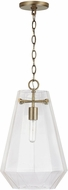 Capital Lighting 338316AD 15 Contemporary Aged Brass Mini Drop Lighting Fixture