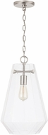 Capital Lighting 338316BN 15 Contemporary Brushed Nickel Mini Drop Ceiling Light Fixture
