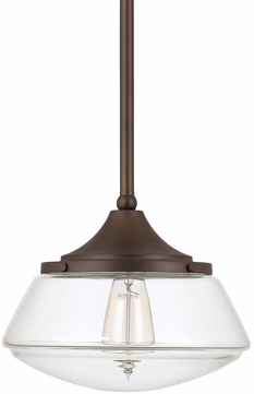 Capital Lighting 3531BB-134 Pendant Burnished Bronze Mini Lighting Pendant