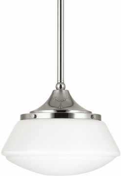 Capital Lighting 3531PN-129 Pendant Polished Nickel Mini Pendant Lamp