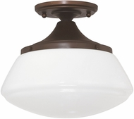 Capital Lighting 3537BB-129 Burnished Bronze Flush Lighting