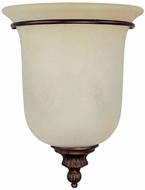 Capital Lighting 3787BB Traditional Burnished Bronze Wall Light Sconce
