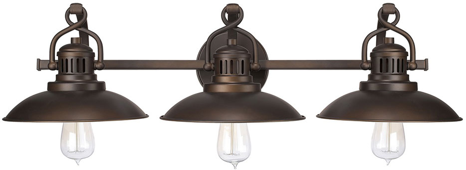 Capital Lighting 3793bb Oneill Vintage Burnished Bronze 3 Light Bathroom Vanity Fixture Loading Zoom