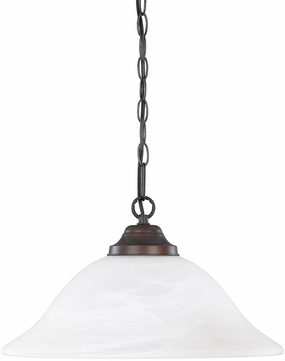Capital Lighting 3907BB Burnished Bronze Pendant Light