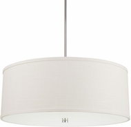 Capital Lighting 3911PN-400 Midtown Polished Nickel Drum Pendant Lighting
