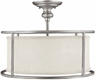 Capital Lighting 3914MN-459 Midtown Matte Nickel Semi-Flush Ceiling Lighting