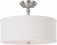 Capital Lighting 3923MN-480 Loft Matte Nickel Semi-Flush Ceiling Lighting Fixture