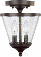 Capital Lighting 4032BB-236 Stanton Burnished Bronze Flush Mount Lighting Fixture