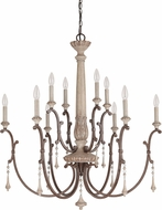 Capital Lighting 4090FO Chateau Traditional French Oak Ceiling Chandelier