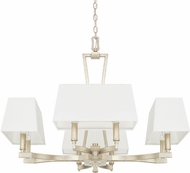 Capital Lighting 410181WG-657 Westbrook Contemporary Winter Gold Hanging Chandelier