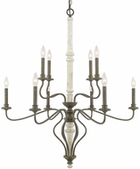 Capital Lighting 410301FC Nora Traditional French Country Chandelier Light