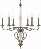 Capital Lighting 410361FC Nora Traditional French Country Lighting Chandelier