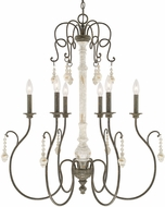 Capital Lighting 410362FC Vineyard Traditional French Country Chandelier Lamp