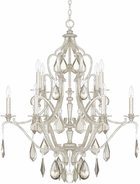 Capital Lighting 4180AS-PC Blakely Antique Silver Ceiling Chandelier