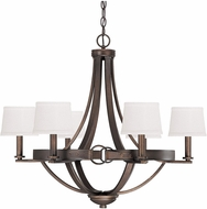 Capital Lighting 4206TB-546 Chastain Tobacco Hanging Chandelier